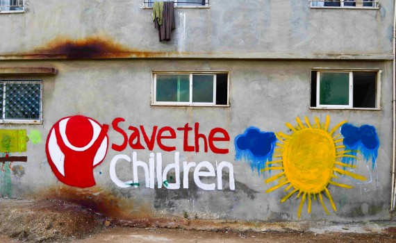 Back with Save The Children