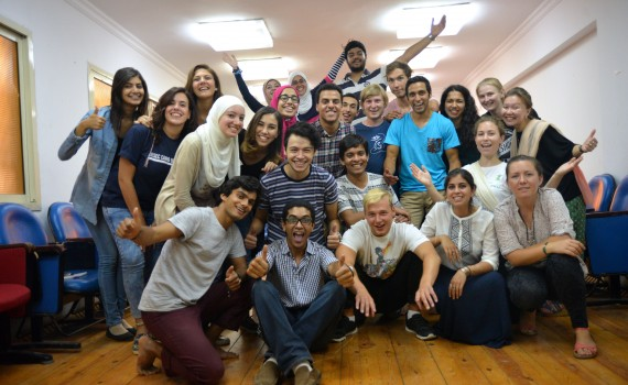 First day with AIESEC